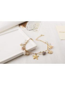 Shell Starfish Bracelet by Dog Dog