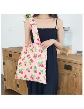 Strawberry Print Bag by Dog Dog