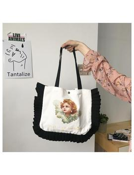Pearl Angel Print Bag by Dog Dog