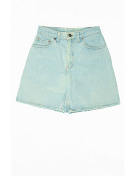 Goat Vintage '80s Levi's High Waisted Denim Shorts by Pacsun