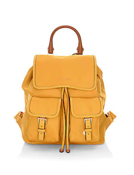 Perry Nylon Flap Backpack by Tory Burch