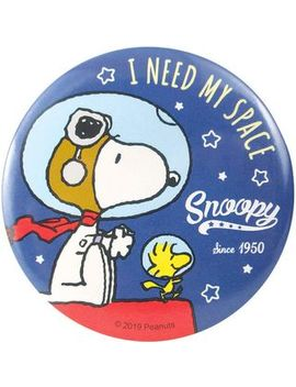 T's Factory   Snoopy Portable Round Mirror (Astronauts) by T's Factory