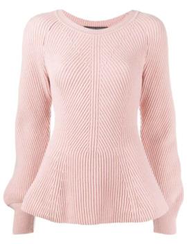 Puff Sleeve Sweater by Alberta Ferretti
