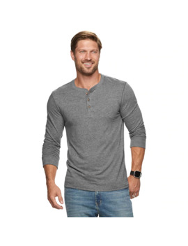 Men's Sonoma Goods For Life™ Supersoft Slim Fit Henley Shirt by Sonoma Goods For Life