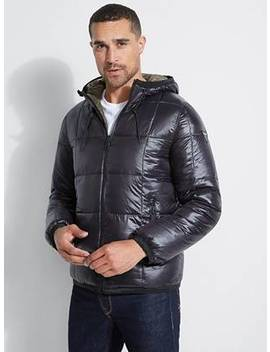 Explorer Reversible Puffer Jacket by Guess