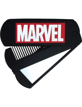 T's Factory   Marvel Comb With Mirror (Black) by T's Factory