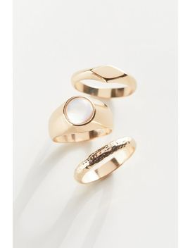 Reece Statement Ring Set by Urban Outfitters