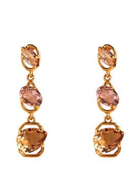 Tiered Crystal Earrings Tiered Crystal Earrings by Oscar De La Renta Oscar De La Renta