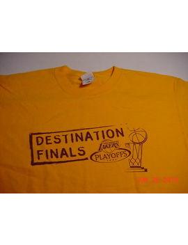 "Nba Basketball Los Angeles Lakers 2004 ""Destination Finals"" (Xl) T Shirt by Ebay Seller"