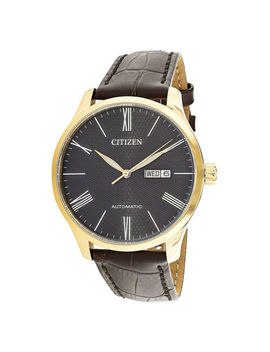 Citizen Analog Casual Mechanical Brown Mens Nh8353 00 H by Citizen