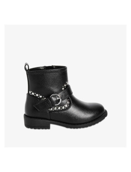 Toddler Girls' Embellished Boots by Joe Fresh