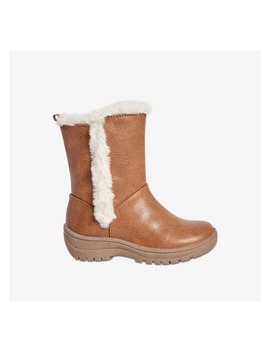 Toddler Girls' Faux Fur Lined Boots by Joe Fresh