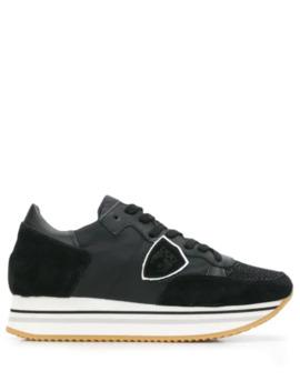 Platform Heel Sneakers by Philippe Model