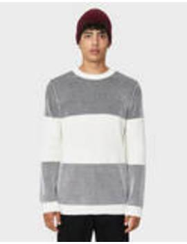 Printed Color Block Sweater by Bershka