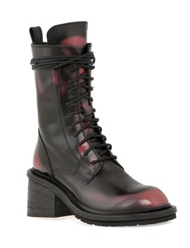 Ann Demeulemeester Scraped Army Boot by Ann Demeulemeester
