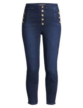 Natasha Sky High Crop Skinny Jeans by J Brand