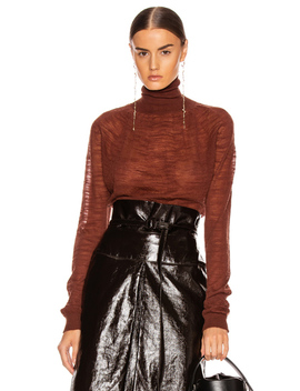 Light Turtleneck Top by Lemaire