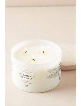 Citronella Sea Salt Candle by Skeem