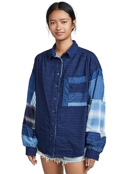 Indigo Sky Button Down Shirt by Free People