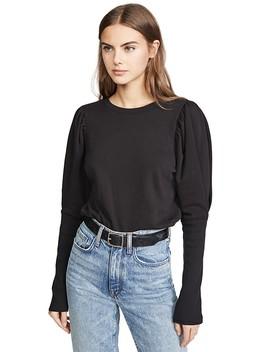 Puff Sleeve Sweatshirt by Goldie