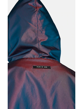 Iridescent Tech Twill Oversized Hoodie by Fear Of God