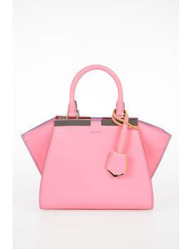 Leather Mini Bag by Fendi