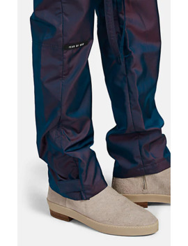 Iridescent Tech Twill Drawstring Jogger Pants by Fear Of God