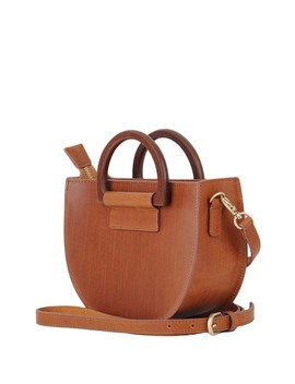 Wooden D Ring Leather Crossbody Bag by Most Wanted Usa