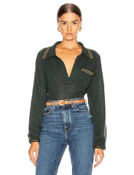 Ellen Raglan Sleeve Sweater by Khaite