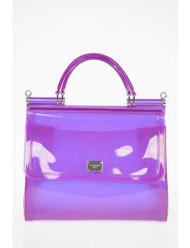 rubber-sicily-top-handle-bag by dolce-&-gabbana