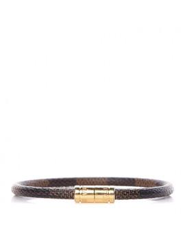 Louis Vuitton Damier Ebene Keep It Bracelet 19 by Louis Vuitton