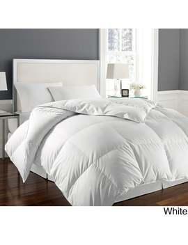 Hotel Grand Naples 700 Thread Count Medium Warmth Down Alternative Comforter   White   King by Hotel Grand