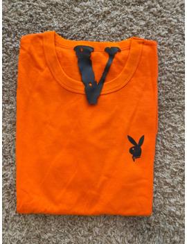 Vlone X Playboi Carti Orange Tee by Vlone  ×