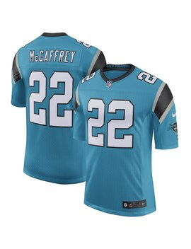 Men's Carolina Panthers Christian Mc Caffrey Nike Blue Classic Limited Player Jersey by Nfl