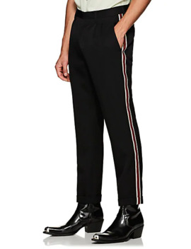 Striped Wool Trousers by Calvin Klein 205 W39 Nyc