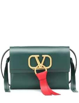 Valentino Garavani Vring Small Leather Crossbody Bag by Valentino
