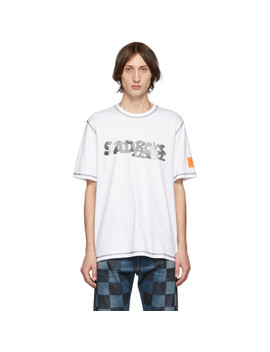 White Sad Boys One Wish Edition T Shirt by Converse
