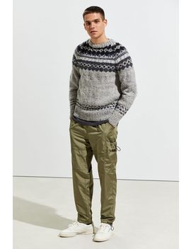 Chamula Fair Isle Crew Neck Sweater by Chamula