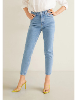 Slim Fit New Mom Jeans by Mango