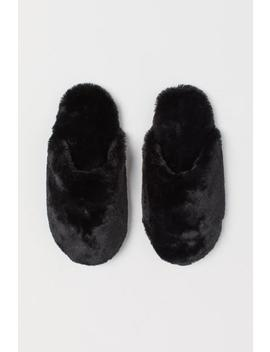 Warm Lined Slippers by H&M