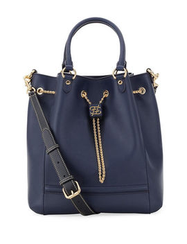 Grace Calf And King Calf Bucket Bag by Fendi