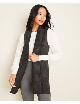 Ribbed Sweater Vest by Ann Taylor