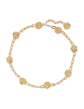 Gold Plated Choker by Leigh Miller