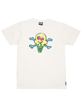 Ice Cream Men Cones And Bones Tee (White) by Bait