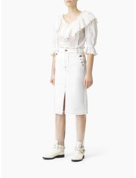 Denim Skirt by Chloe