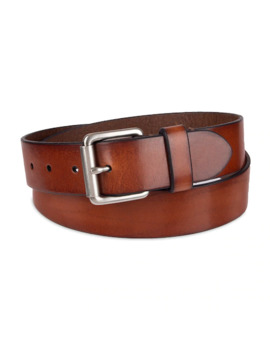 Men's Damen + Hastings Leather Jeans Belt by Damen Hastings