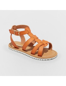 Girls' Mya Gladiator Sandals   Cat & Jack™ by Cat & Jack