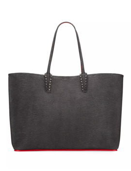Cabata Zarli Metallic Tote Bag by Christian Louboutin