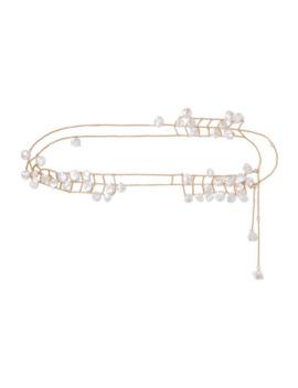Castaway Gold Plated Pearl Belt by Alighieri