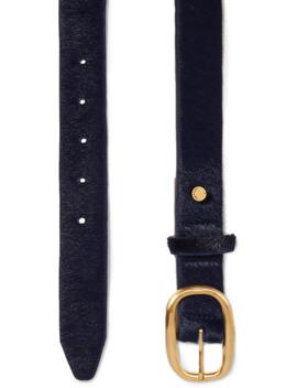Wingman Chain Embellished Calf Hair Belt by Rag & Bone